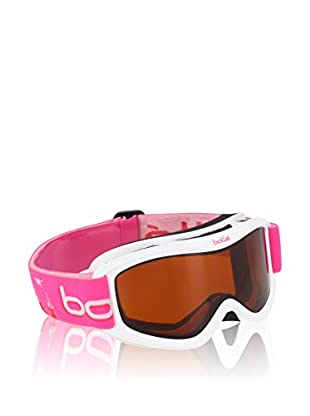 BOLLE Skibrille Amp Jr weiß/pink