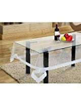 ExpressionHome waterproof center table cover (transparent ,59.84 x 40.15 inches)