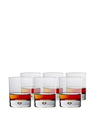 BergHOFF Set of 6 Casa 7.6-Oz. Whiskey Glasses