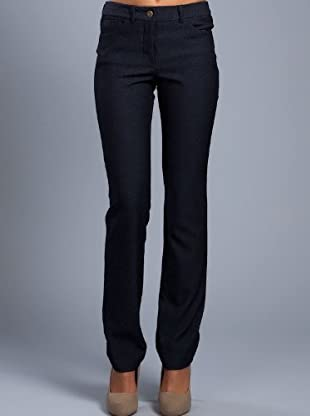Cortefiel Pantalón Recto Básico (azul oscuro)