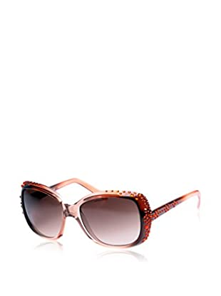 Kristall Boutique Made with Swarovski Elements Gafas de Sol Venice Negro / Naranja