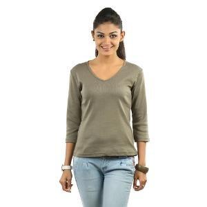 Espresso Women's Grey T-Shirt