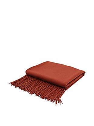 PÜR Cashmere Signature Blend Throw, Marsala