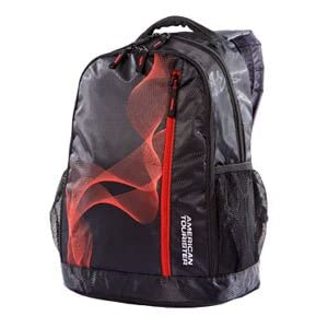 American Tourister Backpack - CODE03 (Black/Red)