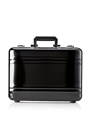 Zero Halliburton Premier 4 Inch Aluminum Attache Case, Black