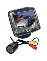 PYLE PLCM35 3.5-Inch TFT LCD Monitor/Night Vision Rear View Camera (Discontinued by Manufacturer)