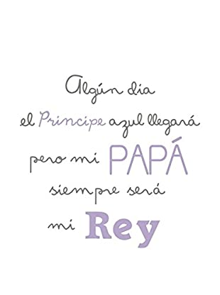 LO+DEMODA Wandtattoo Papá Rey