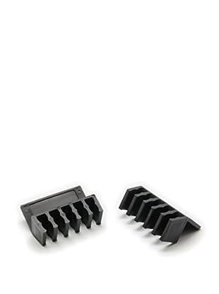 Unotec Organizador Cables Sobremesa (2X)