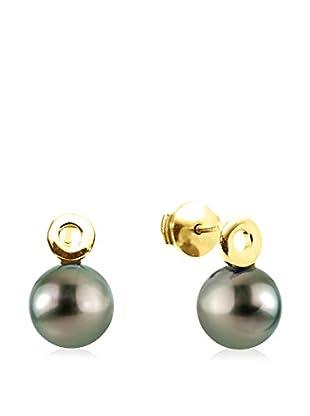 Pearl Addict Pendientes Dorado