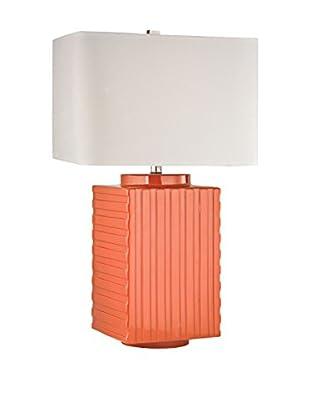 Artistic Lighting Table Lamp, Orange