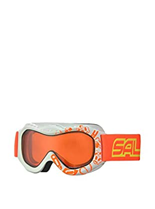 salice occhiali Maschera Da Sci 601DAD Bianco/Arancione