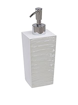 Elegant Home Fashions Legend Lotion Dispenser, Turtledove/Pearl