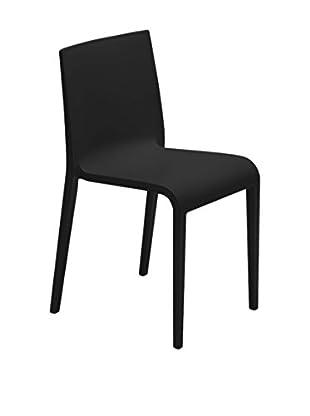 Metalmobil Stuhl 2er Set Nassau schwarz