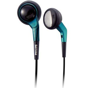 Philips SHE360098 In Ear Headphones-Black