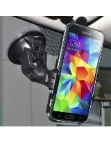 Amzer Suction Cup Mount Holder for Windshield, Dash or Console for Samsung Galaxy S5 - Retail Packaging - Black