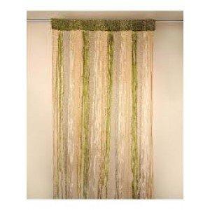Fur curtain -GREEN(4x7ft)