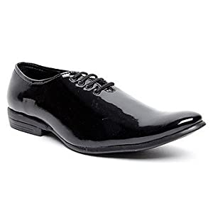 Zapatoz Black Men Formal Shoes - 583