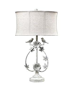 Artistic Lighting Table Lamp, Antique White