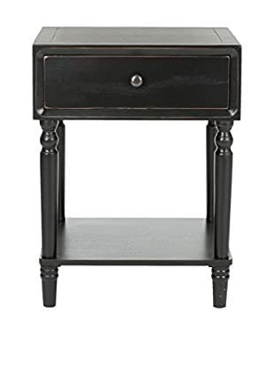 Safavieh Siobhan Night Table, Black
