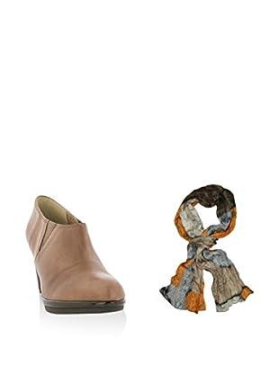 Ortiz & Reed Zapatos abotinados + Fular SET-ZMP9-BU26