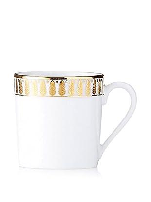 Haviland Plumes Espresso Cup, Gold