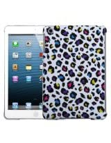 MyBat Smart Slim Back Protector Cover for iPad Mini, Jagged Colorful Leopard (IPADMINIHPCBKIM1028WP)