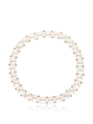 Pearl Addict Pulsera Blanco