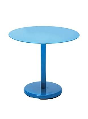 Kare Design Mesa Auxiliar Circle Azul