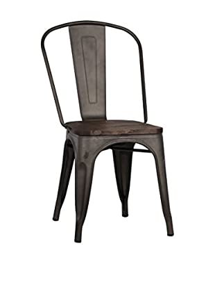 LO+DEMODA Stuhl 2er Set Terek Rusty Wood