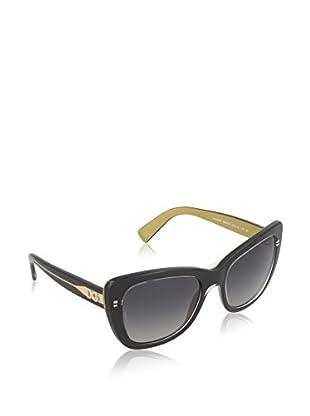 DOLCE & GABBANA Sonnenbrille 4260 schwarz/goldfarben