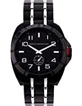 FCUK Analog Black Dial Men's Watch - FC1004B