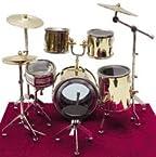Dollhouse Miniature Complete Drum Set