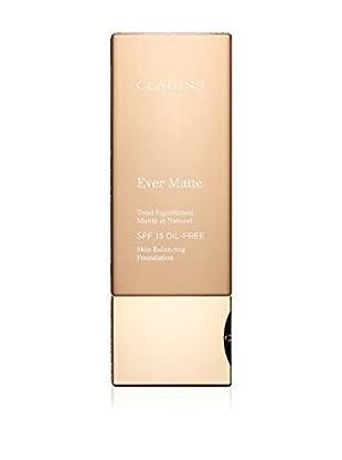 Clarins Base De Maquillaje Líquido Ever Matte 112 Amber SPF 15 30 ml