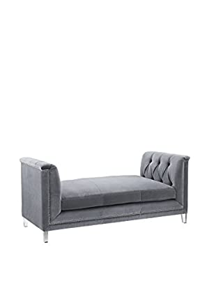 TOV Furniture Naomi Loveseat, Grey