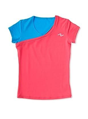 Naffta Camiseta Niña (Fucsia / Turquesa)