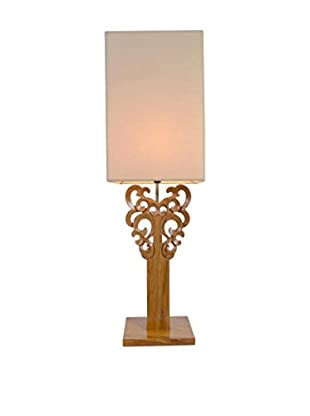 Jeffan Carey Table Lamp, Brown