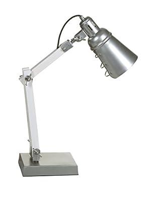 ECLECTIC COLLECTION Schreibtischlampe grau