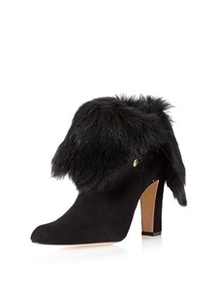 Delman Women's Nita Ankle Bootie (Black)