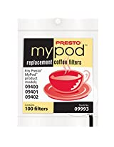 Presto 09993 MyPod Replacement Coffee Filters