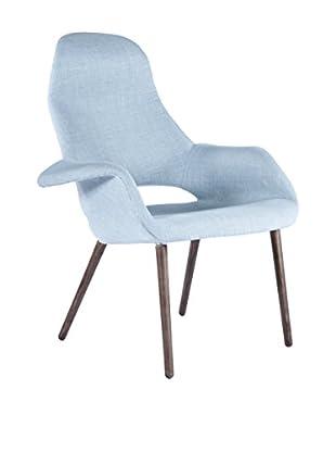 Control Brand The Organic High Back chair, Blue