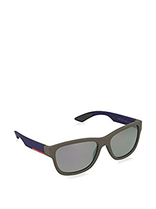PRADA SPORT BROWN RUBBER WITH GREYMIRRORBLUEE