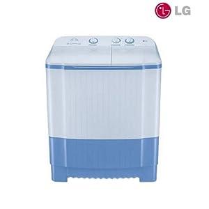 LG P7251N1F Semi-Automatic 6.2 kg Washer Dryer | Blue