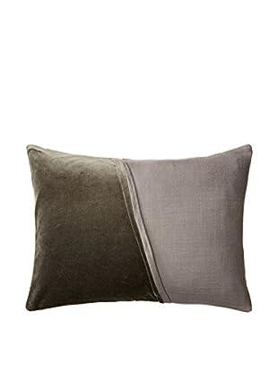 Vera Wang Night Bloom Decorative Pillow, Grey Green