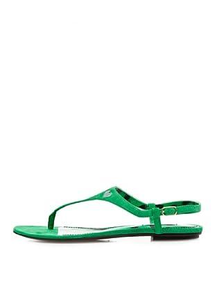 Dolce & Gabbana Sandalias Dedo (Verde)