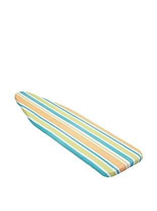 Honey-Can-Do Reversible Superior Ironing Boarding Cover, Caribbean Stripe/Natural