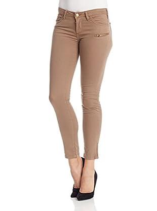 Oran Jeans Pantalón Slim One Zipper