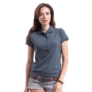 Heart 2 Heart Women's Polo T-shirt - Dark Grey