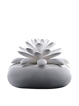 CHANDO Elegance Collection White Lotus Diffuser with 2.7-Oz. Midnight Crystal Fragrance