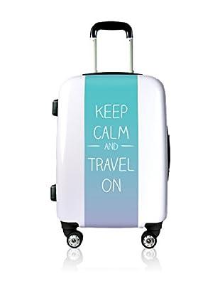 Magellan Hartschalen Trolley Keep Calm And Travel On   80  cm