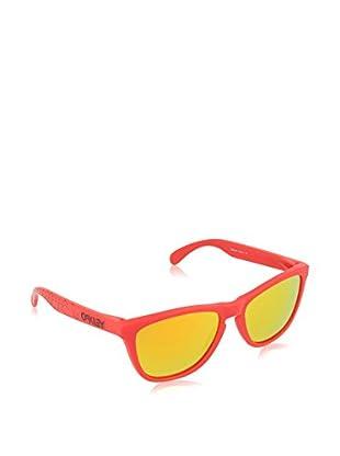 Oakley Gafas de Sol Mod. 9013 901348 (55 mm) Rojo